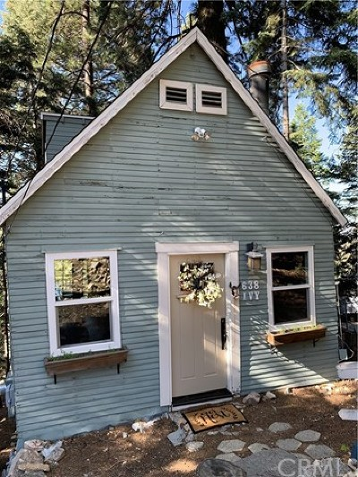 Lake Arrowhead Single Family Home For Sale: 638 Ivy Lane
