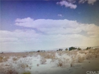 San Bernardino County Residential Lots & Land For Sale: Mescalero