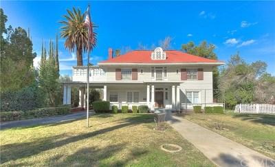 Redlands CA Single Family Home For Sale: $900,000