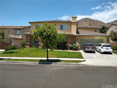 Yucaipa Single Family Home For Sale: 33766 McKenny Place
