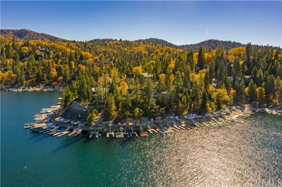 Lake Arrowhead Single Family Home Active Under Contract: Palisades