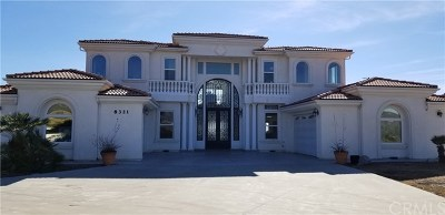 Yucaipa Single Family Home For Sale: 8321 Overview Court