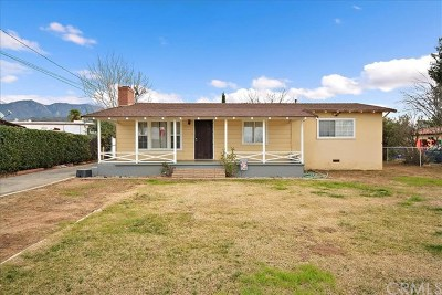 Yucaipa Single Family Home For Sale: 12959 2nd Street