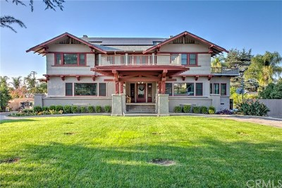Redlands Single Family Home For Sale: 1120 W Fern Avenue