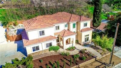 Walnut Single Family Home For Sale: 418 Camino De Gloria