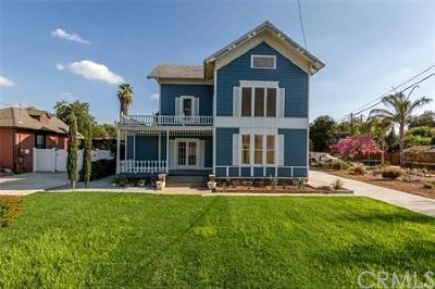 Redlands Single Family Home For Sale: 1033 W Palm Avenue