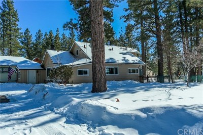 Big Bear Single Family Home For Sale: 39751 Forest Road