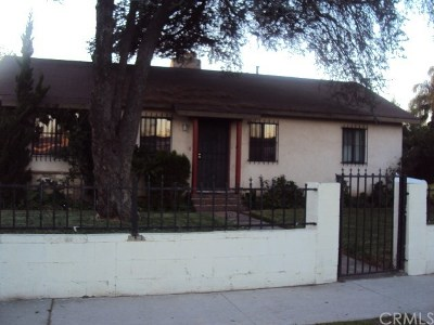 Compton Single Family Home For Sale: 609 S Harris Avenue