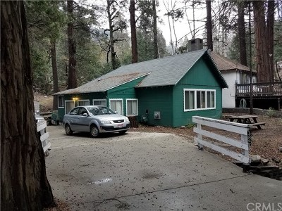 Crestline Single Family Home Active Under Contract: 385 S Dart Canyon Rd