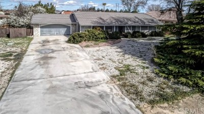 Apple Valley Single Family Home For Sale: 12495 Reata Road