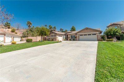 Yucaipa Single Family Home For Sale: 33590 Gene Autry Circle