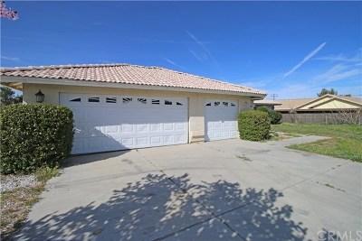 Hesperia Single Family Home For Sale: 14762 Ranchero Road