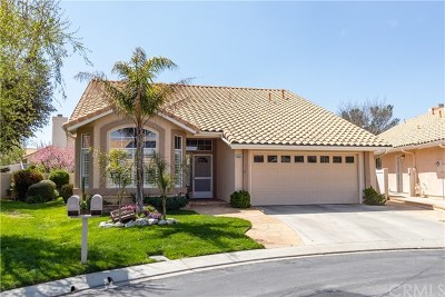 Banning Single Family Home For Sale: 5212 E Lake Court