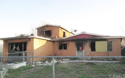 San Jacinto CA Single Family Home For Sale: $64,200