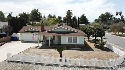 Yucaipa Single Family Home For Sale: 11879 Adams Court
