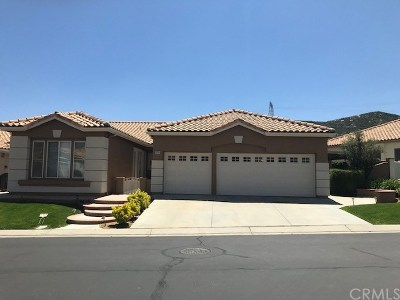 Banning Single Family Home For Sale: 4925 Singing Hills Drive