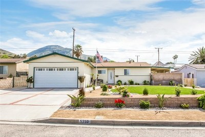 San Bernardino Single Family Home For Sale: 5393 Newbury Avenue