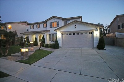 Rancho Cucamonga CA Single Family Home For Sale: $835,000