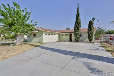 Highland Single Family Home Active Under Contract: 26668 Union