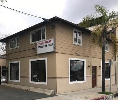 Redlands Commercial For Sale: 752 E Citrus Avenue