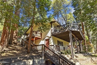 Twin Peaks Single Family Home For Sale: 854 Strawberry Peak Lane