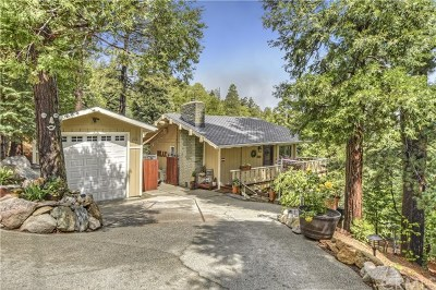 Crestline Single Family Home For Sale: 24580 Albrun Drive S