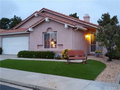 Cherry Valley Single Family Home For Sale: 10311 Bel Air Drive