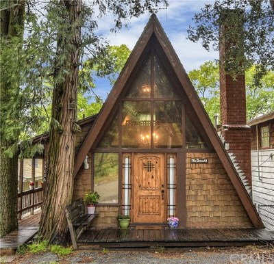 Crestline Single Family Home For Sale: 25006 Saxon