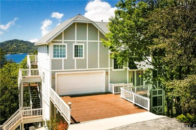 Lake Arrowhead Single Family Home For Sale: 28870 Old North Shore Road