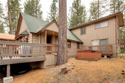 Big Bear Single Family Home For Sale: 498 Chipmunk Lane