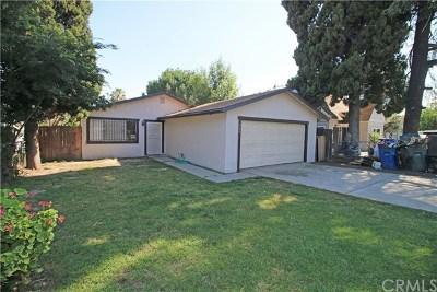 San Bernardino Single Family Home For Sale: 749 W Trenton Street