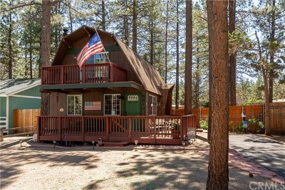 Big Bear Single Family Home For Sale: 961 Tinkerbell Avenue