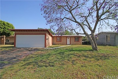 Fontana Single Family Home For Sale: 17225 Ceres