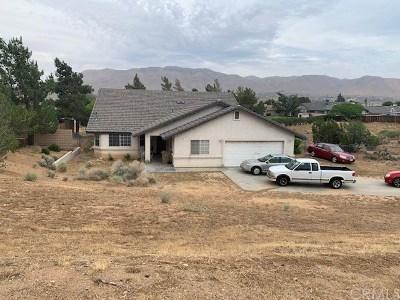 Hesperia Single Family Home For Sale: 8031 Mono Drive