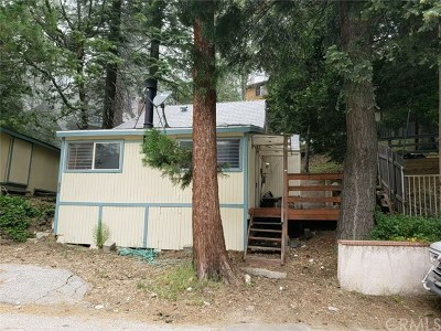 Lake Arrowhead CA Single Family Home For Sale: $114,900
