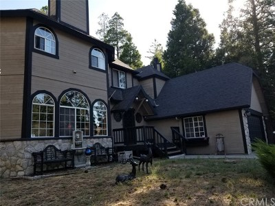 Blue Jay, Cedarpines Park, Crestline, Lake Arrowhead, Running Springs Area, Twin Peaks, Big Bear, Arrowbear, Cedar Glen, Rimforest Single Family Home For Sale: 27193 Peninsula Drive