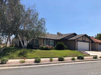 Rancho Cucamonga CA Single Family Home For Sale: $609,000