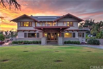Redlands Single Family Home For Sale: 1120 W Fern Avenue