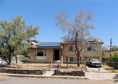 Needles Single Family Home For Sale: 620 California Avenue