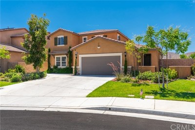 Menifee Single Family Home For Sale: 29780 Peppercorn Circle