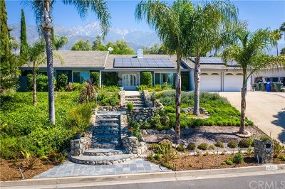 Alta Loma Single Family Home For Sale: 10376 Hillside Road