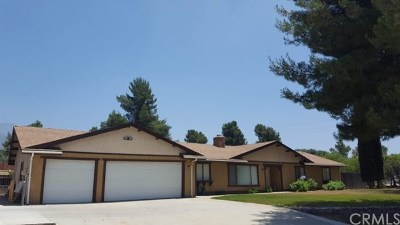 Yucaipa Single Family Home For Sale: 10013 Country Lane