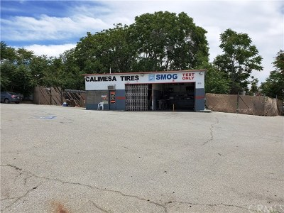 Calimesa Commercial For Sale: 905 Calimesa Boulevard