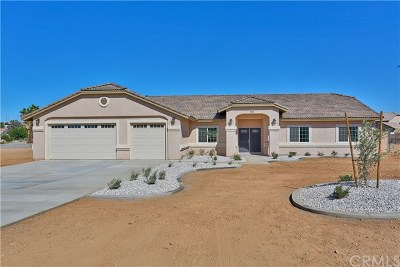 Hesperia CA Single Family Home For Sale: $425,000