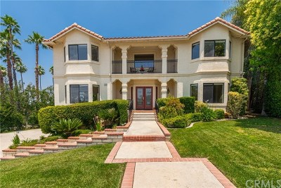 Redlands Single Family Home For Sale: 880 W Sunset Drive