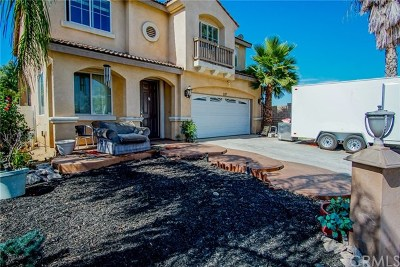 Perris Single Family Home For Sale: 217 Camino De La Luna