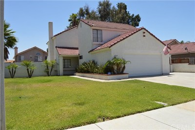 Moreno Valley Single Family Home For Sale: 23769 Swan Street