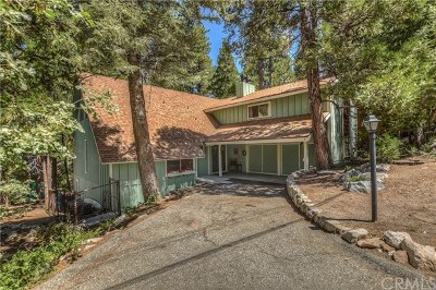 Lake Arrowhead Single Family Home For Sale: 485 Bel Air Drive
