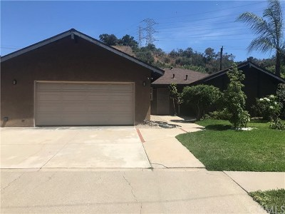 Diamond Bar Single Family Home For Sale: 3808 Castle Rock Road
