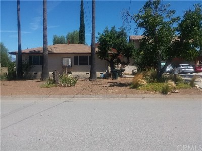 Yucaipa Single Family Home For Sale: 34042 Ave I